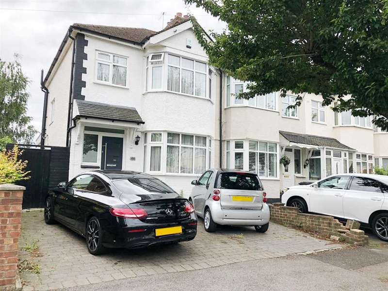 3 Bedrooms Semi Detached House for sale in Southfield Road, Waltham Cross