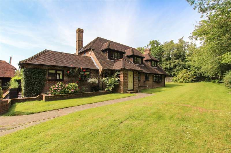 5 Bedrooms Detached House for sale in Cowbeech Hill, Cowbeech