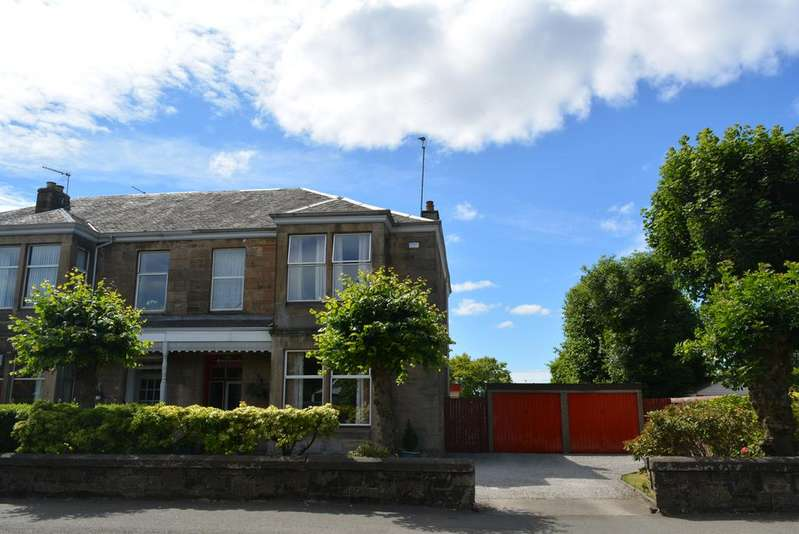 4 Bedrooms Semi Detached House for sale in 24 Hawkhead Road, PAISLEY, PA1 3NA