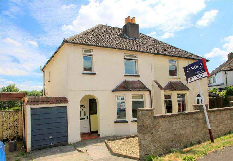 3 Bedrooms Semi Detached House for sale in Perrycroft Road, Bishopsworth, Bristol, BS13