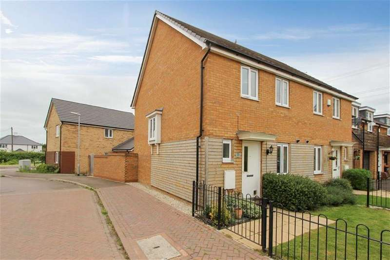 3 Bedrooms End Of Terrace House for sale in Dunnock Drive, Leighton Buzzard