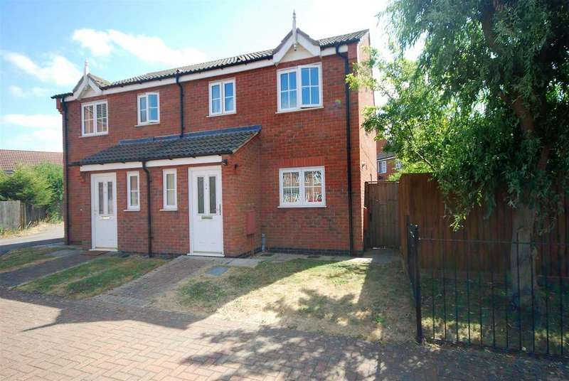 3 Bedrooms Semi Detached House for sale in Bonnington Court, Spalding