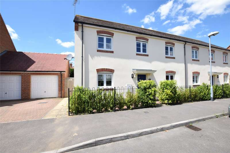 4 Bedrooms Semi Detached House for sale in Chiffchaff Corner, Bracknell, Berkshire, RG12