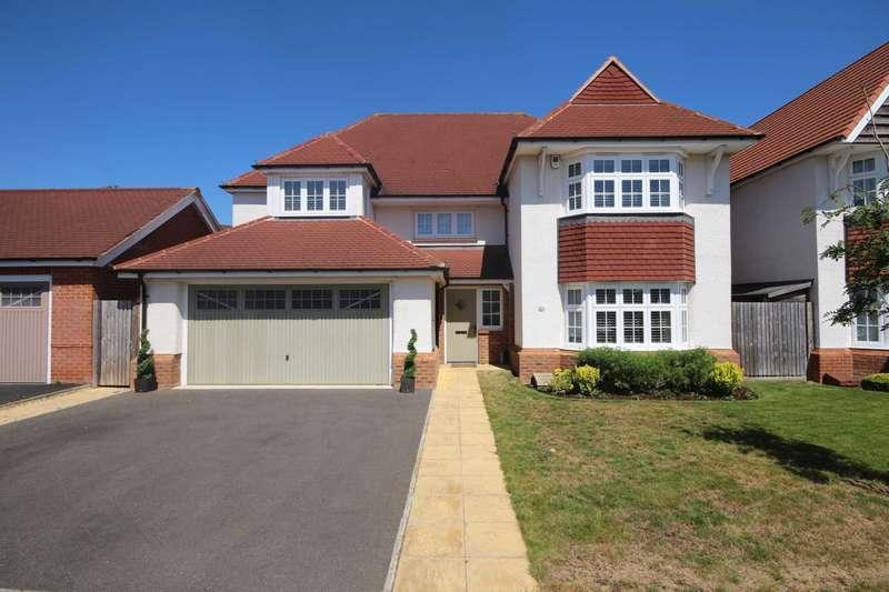 4 Bedrooms Detached House for sale in Goldcrest Road, Jennett`s Park