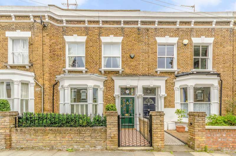4 Bedrooms Terraced House for sale in Wyatt Road, Islington, N5