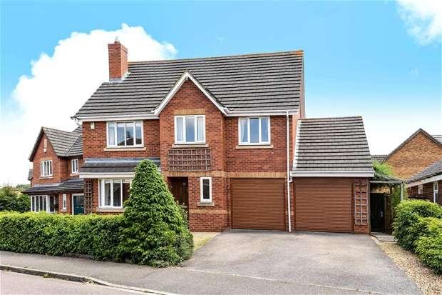 5 Bedrooms Detached House for sale in Deep Spinney, Biddenham