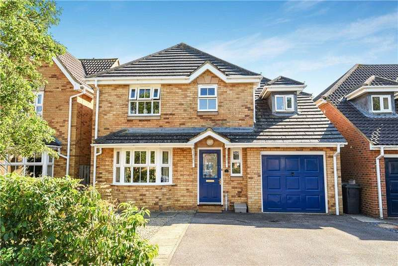 4 Bedrooms Detached House for sale in Lincroft, Cranfield, Bedfordshire