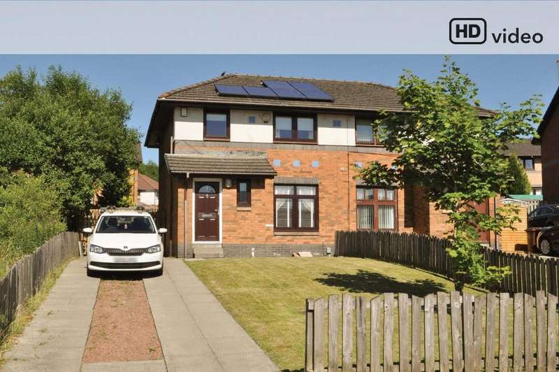 3 Bedrooms Semi Detached House for sale in Monymusk Place, Drumchapel , Glasgow, G15 8JH
