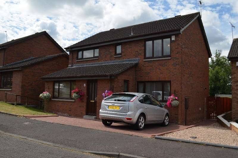 4 Bedrooms Detached House for sale in Chestnut Grove, Motherwell, North Lanarkshire, ML1 3JF