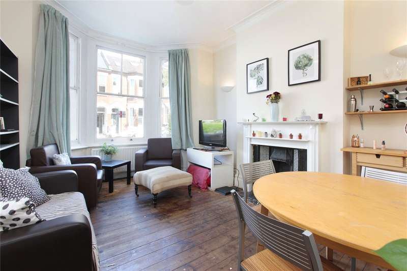2 Bedrooms Flat for sale in Brayburne Avenue, Clapham, London, SW4