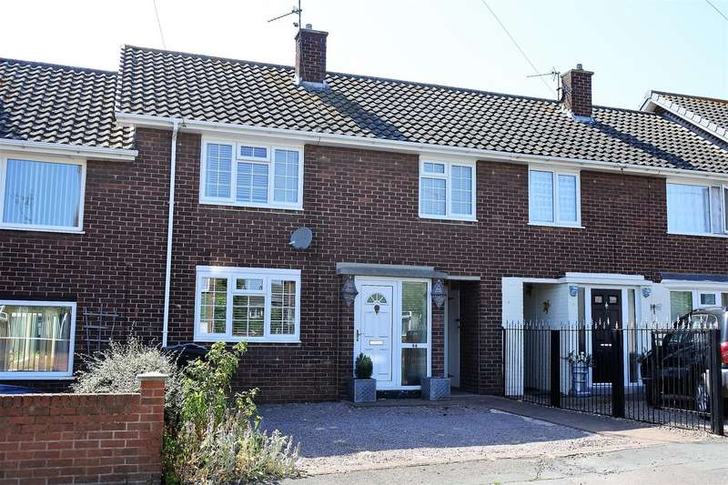 3 Bedrooms Terraced House for sale in East Avenue, Grantham