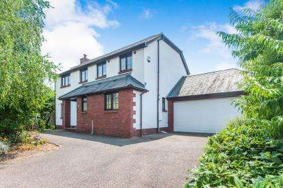 4 Bedrooms Detached House for sale in Stoke Canon, Exeter, Devon