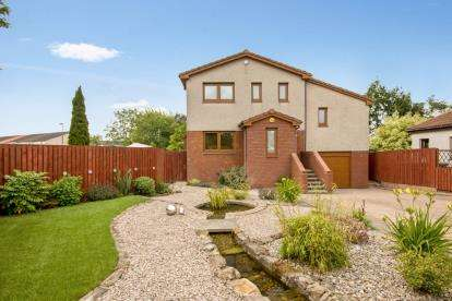5 Bedrooms Detached House for sale in Hermand Gardens, West Calder