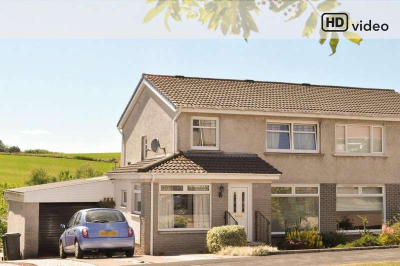 3 Bedrooms Semi Detached House for sale in Galbraith Drive , Milgnavie , Glasgow, G62 6LZ