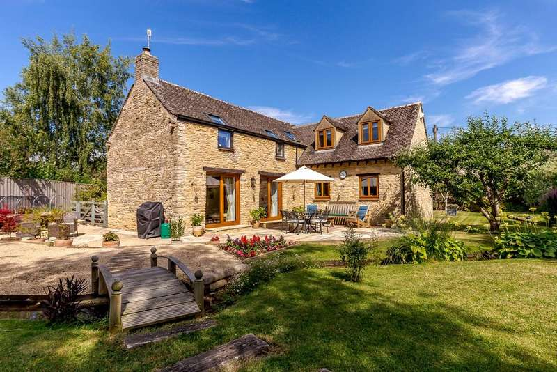 4 Bedrooms Barn Conversion Character Property for sale in High Street, Ascott-Under-Wychwood, Chipping Norton, Oxfordshire, OX7