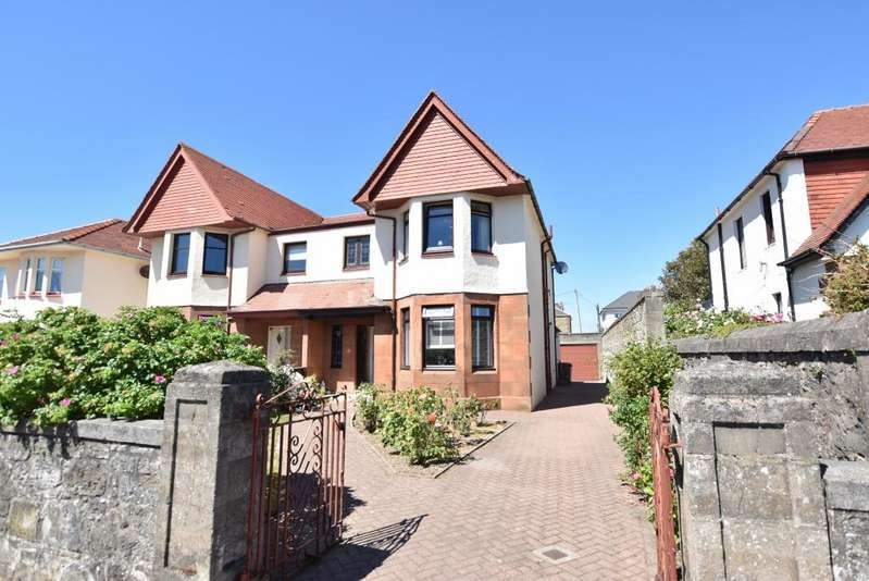 3 Bedrooms Semi-detached Villa House for sale in 18 Seabank Road, Prestwick, KA9 1QS