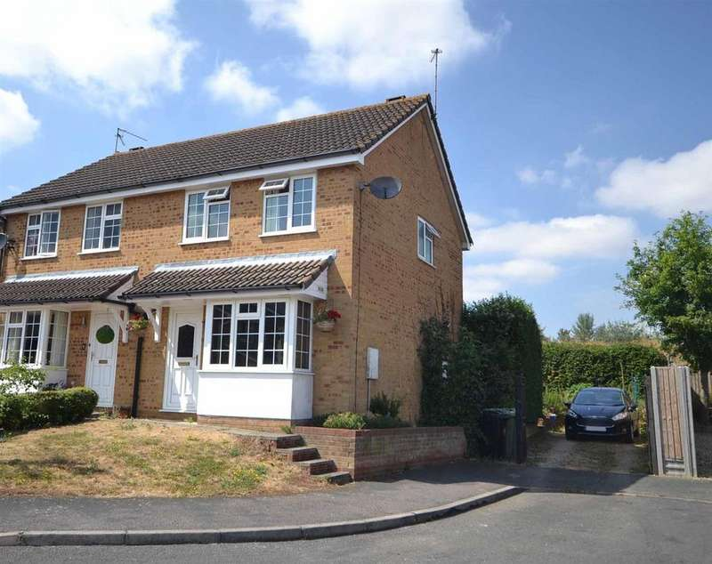 3 Bedrooms Semi Detached House for sale in Losecoat Close, Stamford