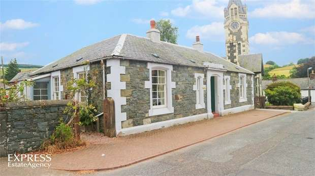 4 Bedrooms Detached House for sale in Ayr Street, Moniaive, Thornhill, Dumfries and Galloway
