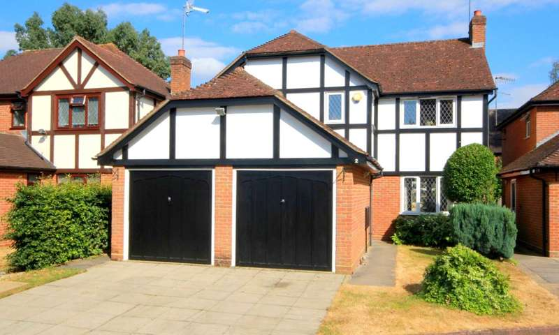 4 Bedrooms Detached House for sale in 4 BED EXECUTIVE HOME WITH GARAGE IN SELECT LEVERSTOCK GREEN CUL DE SAC