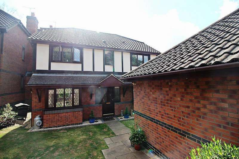 4 Bedrooms Detached House for sale in Glenrhondda, Emmer Green, Reading