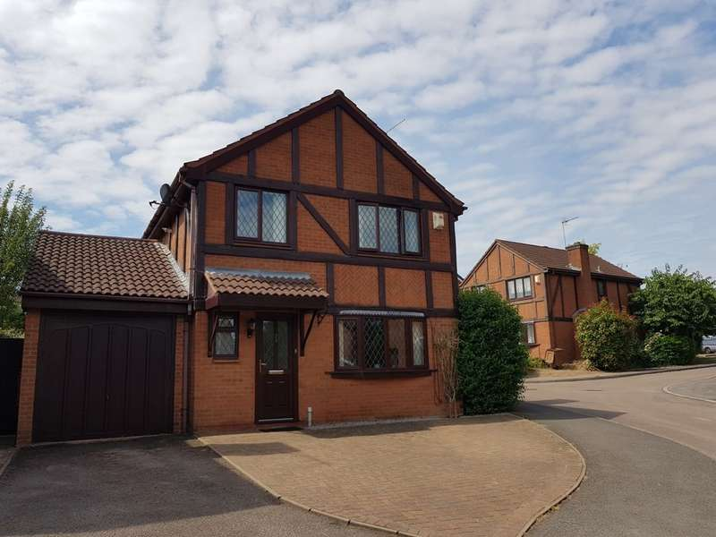 4 Bedrooms Detached House for sale in Grassington Drive, Worcester, WR4