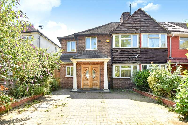 4 Bedrooms End Of Terrace House for sale in Mandeville Road, Northolt, Middlesex, UB5