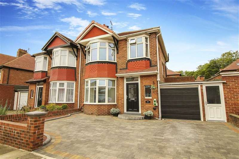 3 Bedrooms Semi Detached House for sale in Otterburn Road, North Shields, Tyne And Wear