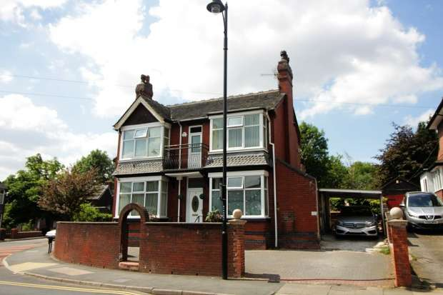 4 Bedrooms Detached House for sale in Victoria Park Road, Stoke On Trent, Staffordshire, ST6 6DX
