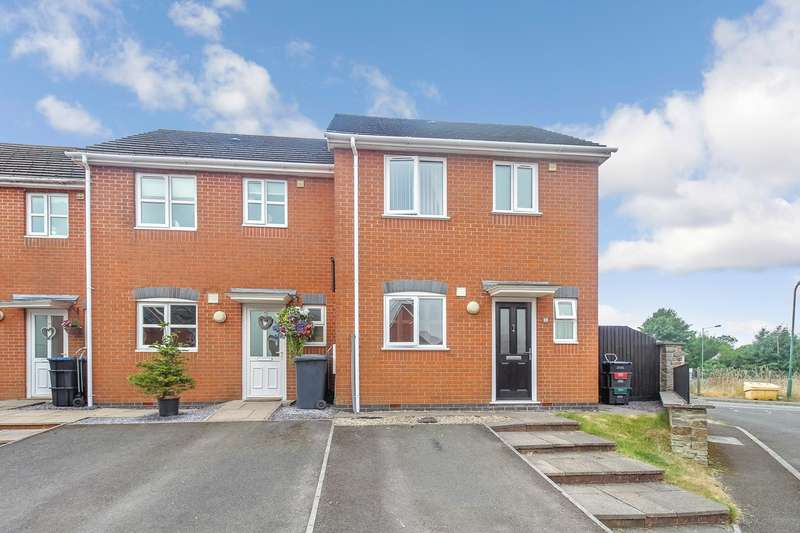 3 Bedrooms End Of Terrace House for sale in Heathcote Close, Brynmawr, Ebbw Vale, NP23