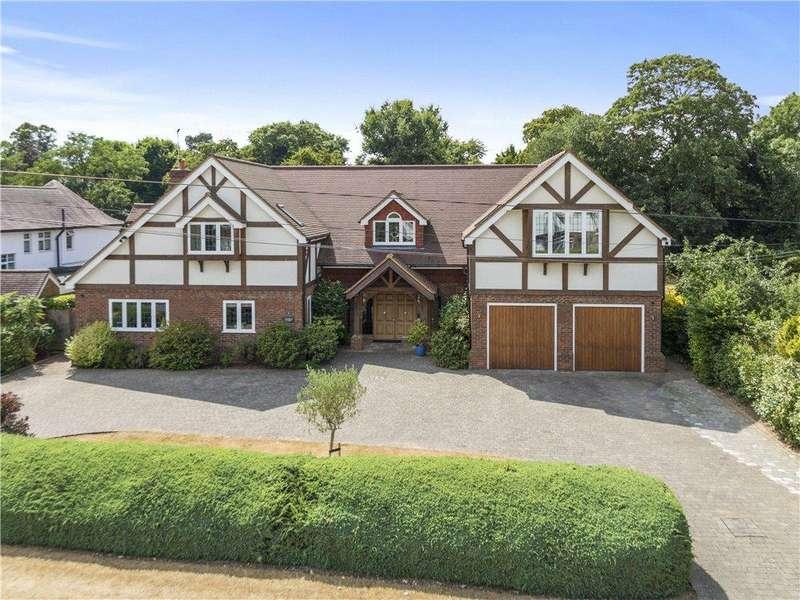 5 Bedrooms Detached House for sale in Brook Farm Road, Cobham, Surrey, KT11