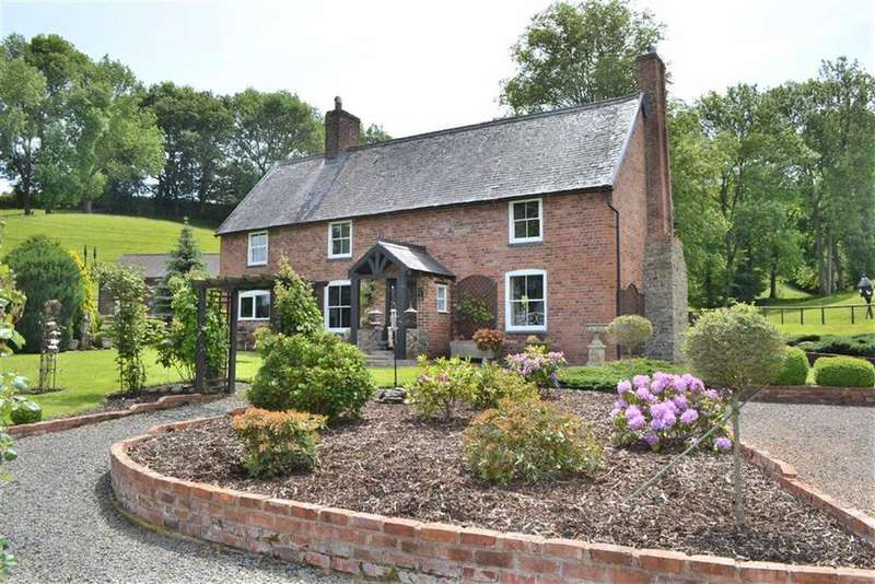 3 Bedrooms Detached House for sale in Cwmdale, Llandyssil, Montgomery, Powys, SY15
