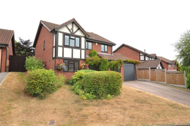 4 Bedrooms Detached House for sale in 18 Bryony Way, Priorslee, Telford, TF2