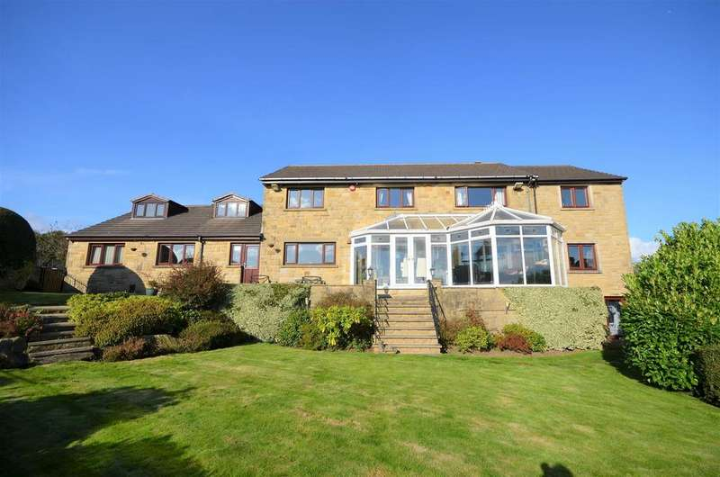 5 Bedrooms Detached House for sale in The Sycamores, 49 North Cross Road, Grimescar, Huddersfield, HD2 7NL
