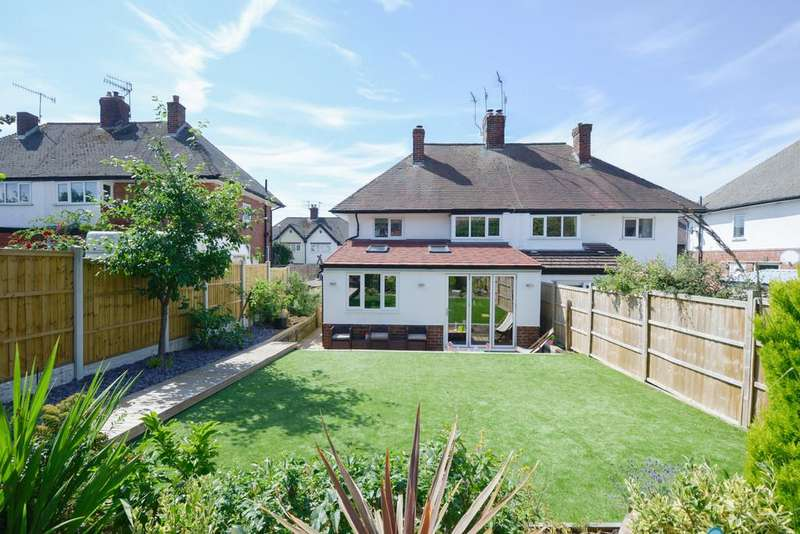 3 Bedrooms Semi Detached House for sale in Orchard View Road, Ashgate, Chesterfield