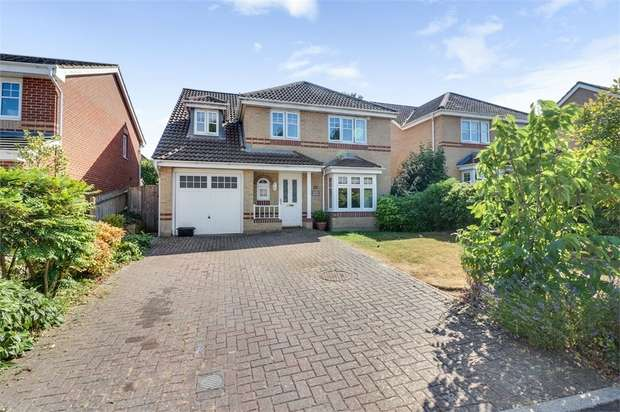 4 Bedrooms Detached House for sale in The Crossways, Chandler's Ford, Eastleigh, Hampshire