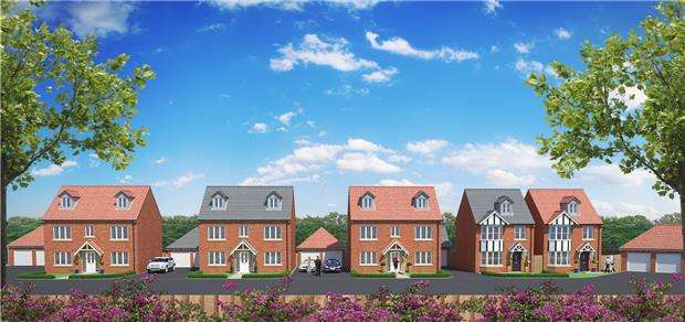 5 Bedrooms Detached House for sale in New Dawn View Preview Day - Stroud Road, GLOUCESTER, GL1 5LQ
