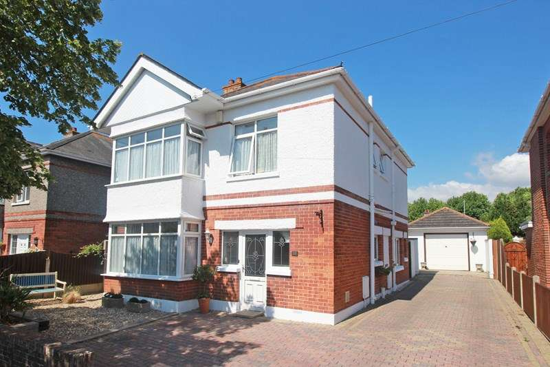 3 Bedrooms Detached House for sale in Twynham Avenue, Christchurch