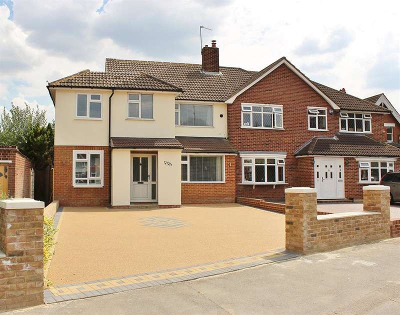5 Bedrooms Semi Detached House for sale in Woolwich Road, Upper Abbey Wood, London, SE2 0DY