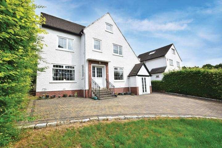 5 Bedrooms Detached House for sale in 39 Ralston Road, Bearsden, G61 3BA