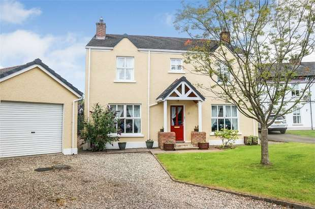 4 Bedrooms Detached House for sale in Millfields, Balnamore, Ballymoney, County Antrim