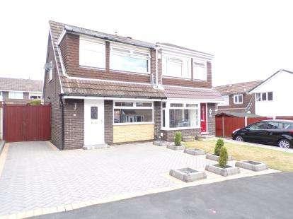 3 Bedrooms Semi Detached House for sale in Cheltenham Crescent, Higher, Runcorn, Cheshire, WA7