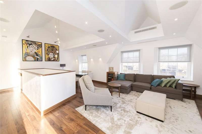 3 Bedrooms Penthouse Flat for sale in Bedford Row, Holborn, WC1R