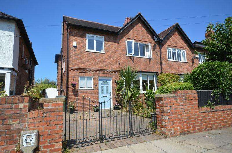4 Bedrooms Semi Detached House for sale in Banks Avenue, Meols