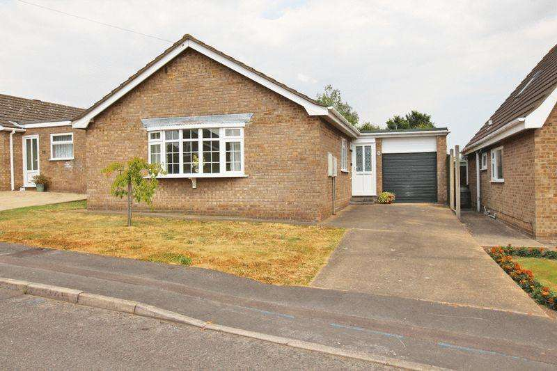 2 Bedrooms Detached Bungalow for sale in MEADOW CLOSE, LOUTH