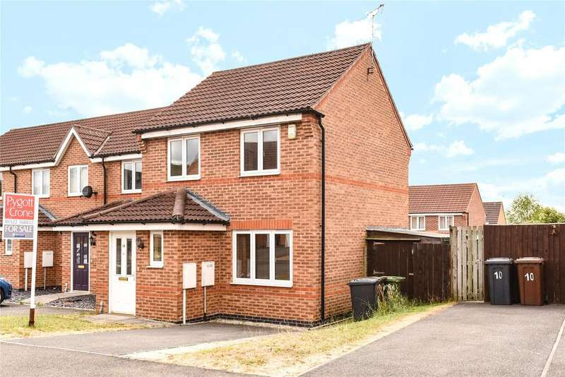 2 Bedrooms End Of Terrace House for sale in Mercer Drive, Lincoln, LN1