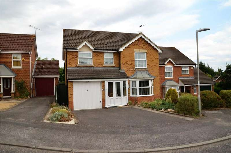 4 Bedrooms Detached House for sale in The Knoll, Tilehurst, Reading, Berkshire, RG31