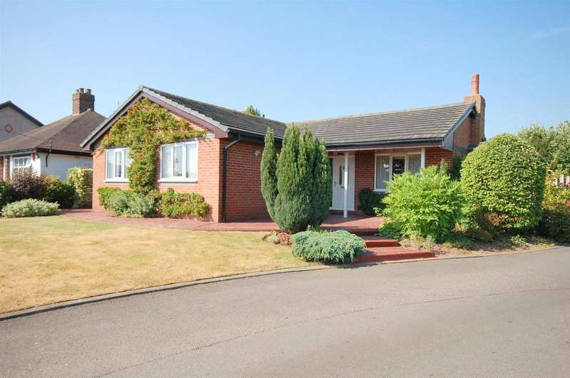 3 Bedrooms Detached Bungalow for sale in Foxes Hollow, Crewe