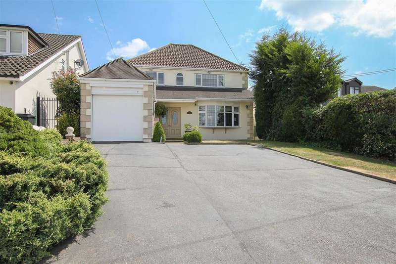 4 Bedrooms Detached House for sale in Blackmore Road, Hook End, Brentwood