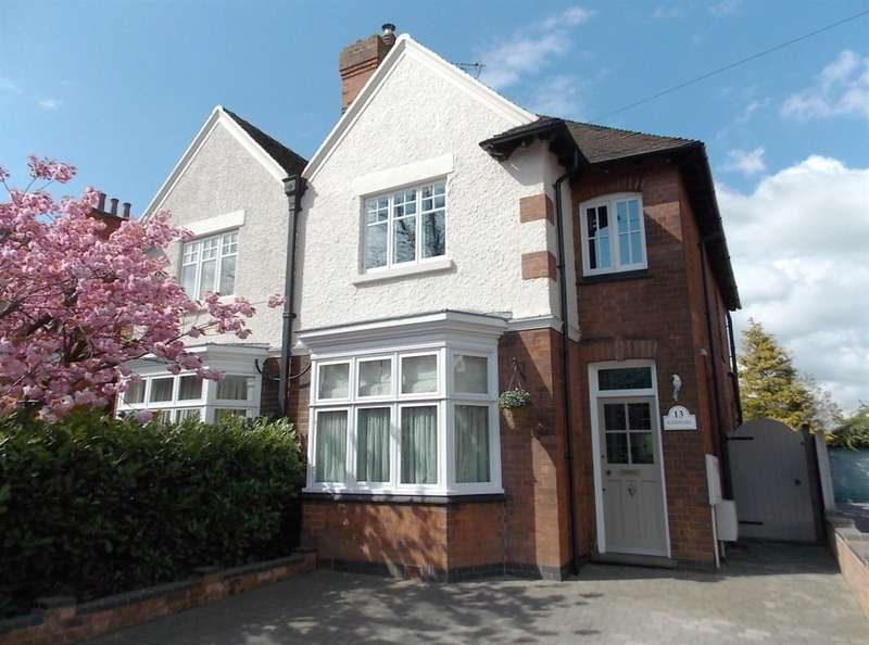 3 Bedrooms Detached House for sale in Nottingham Road, Ashby-De-La-Zouch, L...