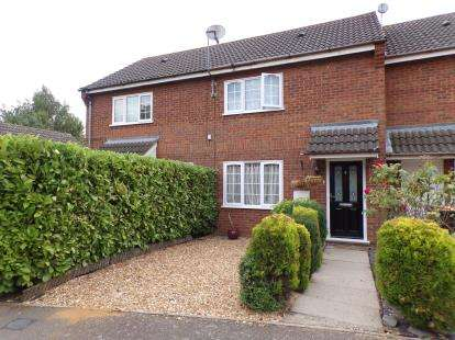 2 Bedrooms Terraced House for sale in Westwood Close, Shortstown, Bedford, Bedfordshire